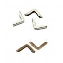 Установка металлических уголков на любую обложку (комплект)